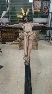 cristo en taller sevilla 1
