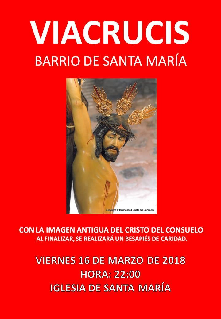 viacrucis santa maria 2018